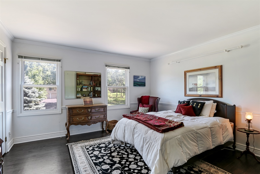 Real Estate Photography - 1680 Ridge Rd, Lake Forest, IL, 60045 - 3rd Bedroom