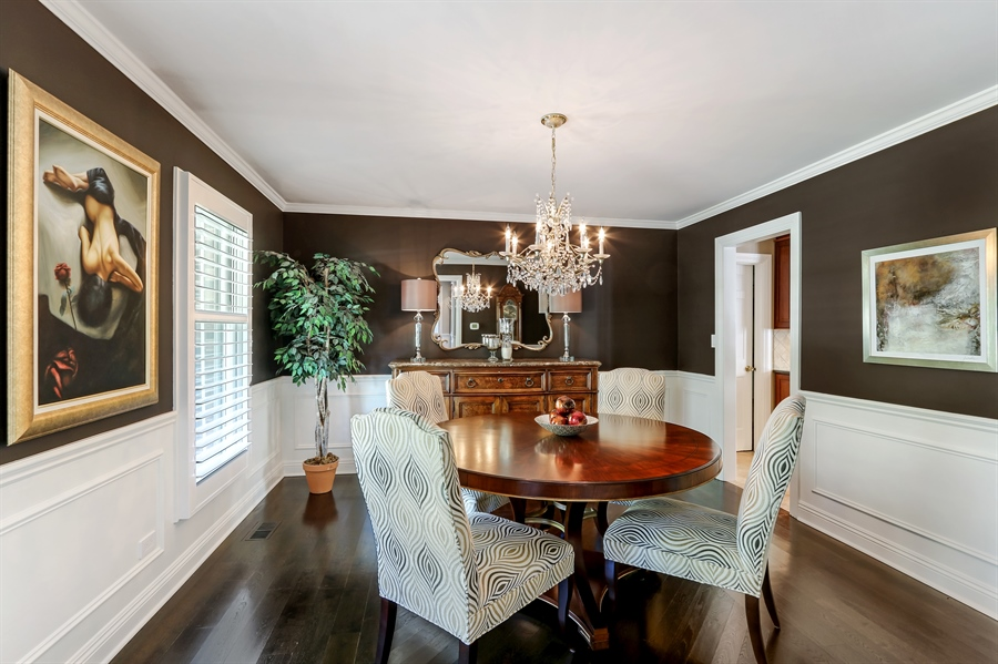 Real Estate Photography - 1680 Ridge Rd, Lake Forest, IL, 60045 - Dining Room