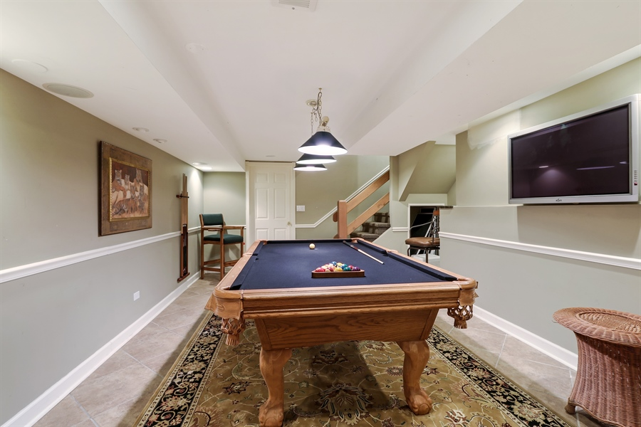 Real Estate Photography - 1680 Ridge Rd, Lake Forest, IL, 60045 - Basement