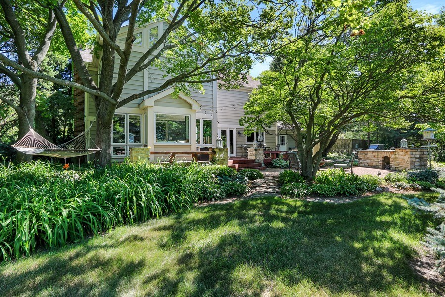 Real Estate Photography - 1680 Ridge Rd, Lake Forest, IL, 60045 - Rear View