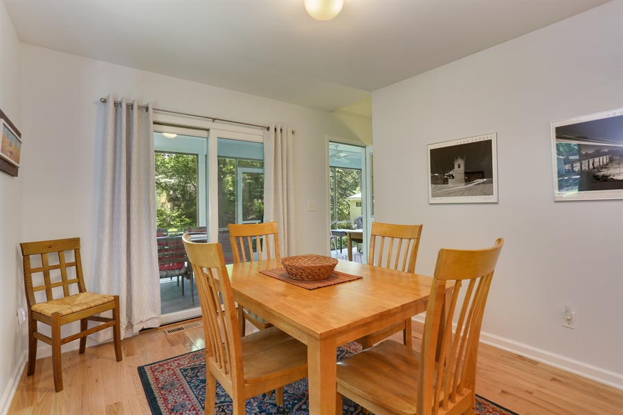 Real Estate Photography - 9450 Union Pier Rd, Union Pier, MI, 49129 - Dining Room