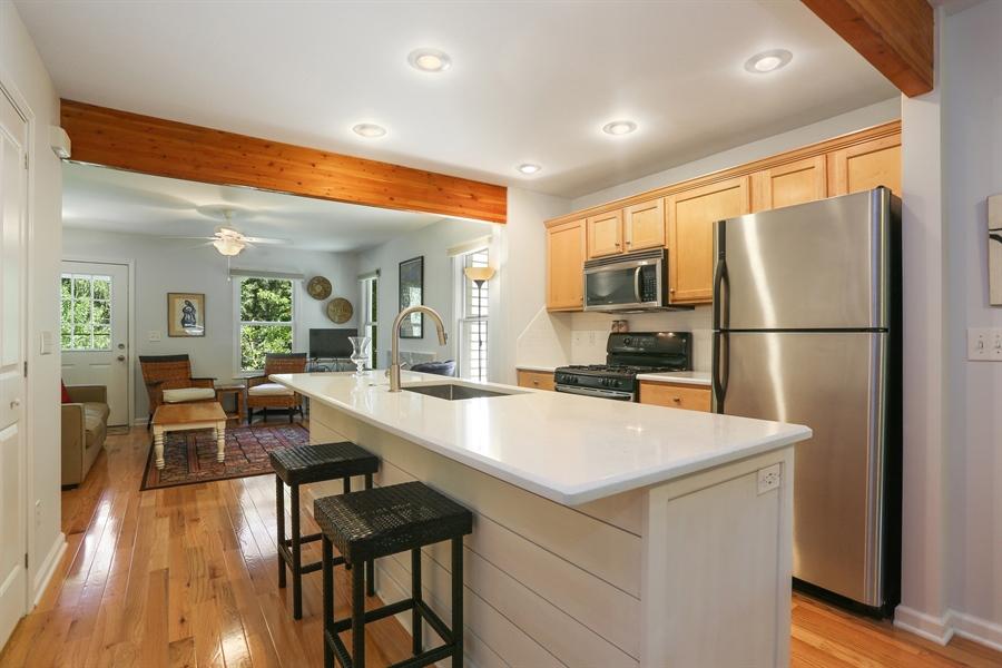 Real Estate Photography - 9450 Union Pier Rd, Union Pier, MI, 49129 - Kitchen / Living Room