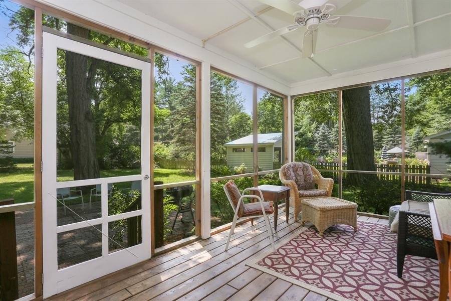 Real Estate Photography - 9450 Union Pier Rd, Union Pier, MI, 49129 - Screen porch