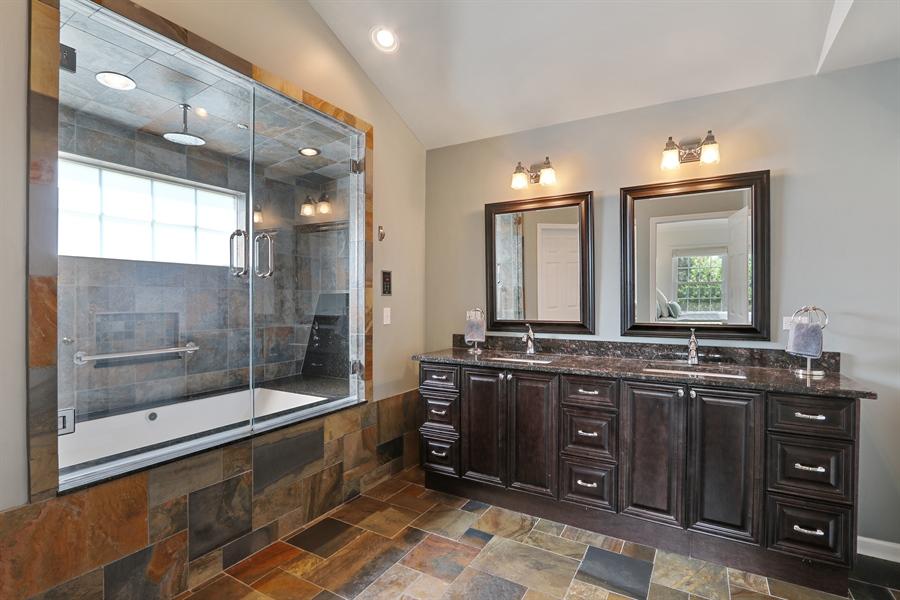 Real Estate Photography - 812 Foxmoor Ln, Lake Zurich, IL, 60047 - Master Bathroom