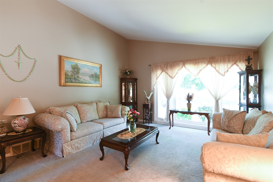Real Estate Photography - 5921 Monroe St, Morton Grove, IL, 60053 - Living Room