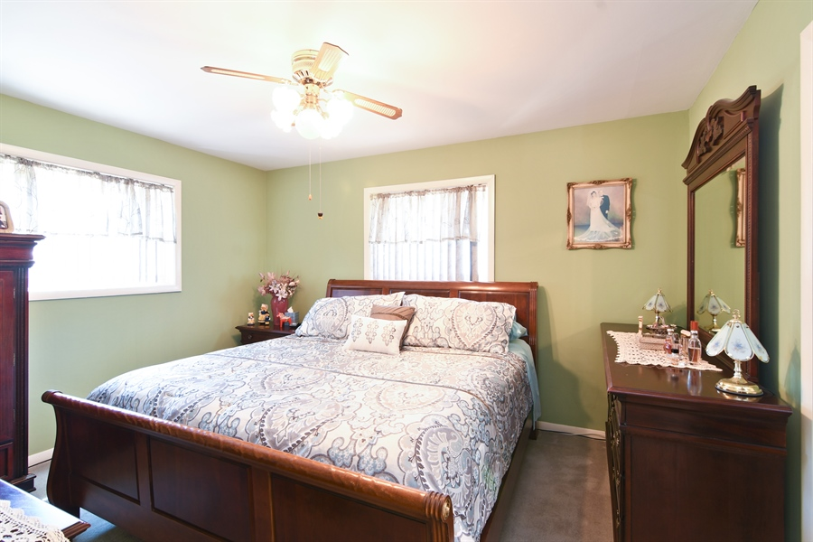 Real Estate Photography - 5921 Monroe St, Morton Grove, IL, 60053 - Master Bedroom