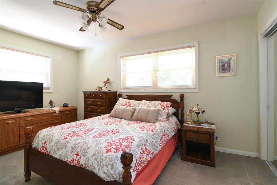 Real Estate Photography - 5921 Monroe St, Morton Grove, IL, 60053 - 3rd Bedroom