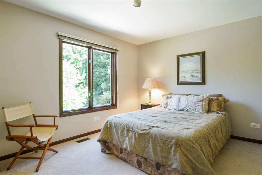 Real Estate Photography - 1 Overlook, Hawthorn Woods, IL, 60047 - 2nd Bedroom