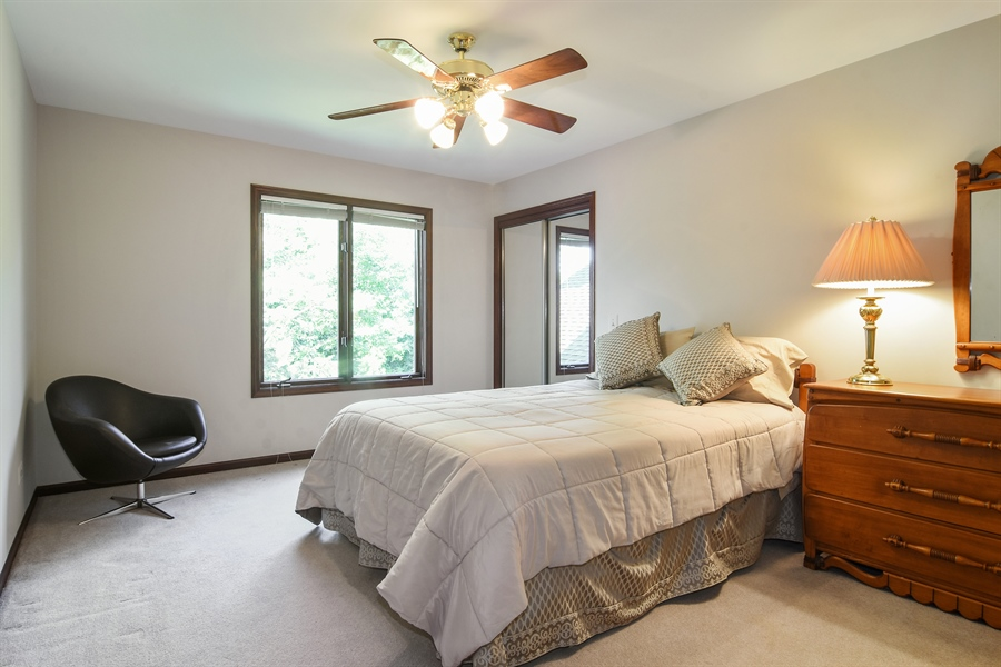 Real Estate Photography - 1 Overlook, Hawthorn Woods, IL, 60047 - 3rd Bedroom
