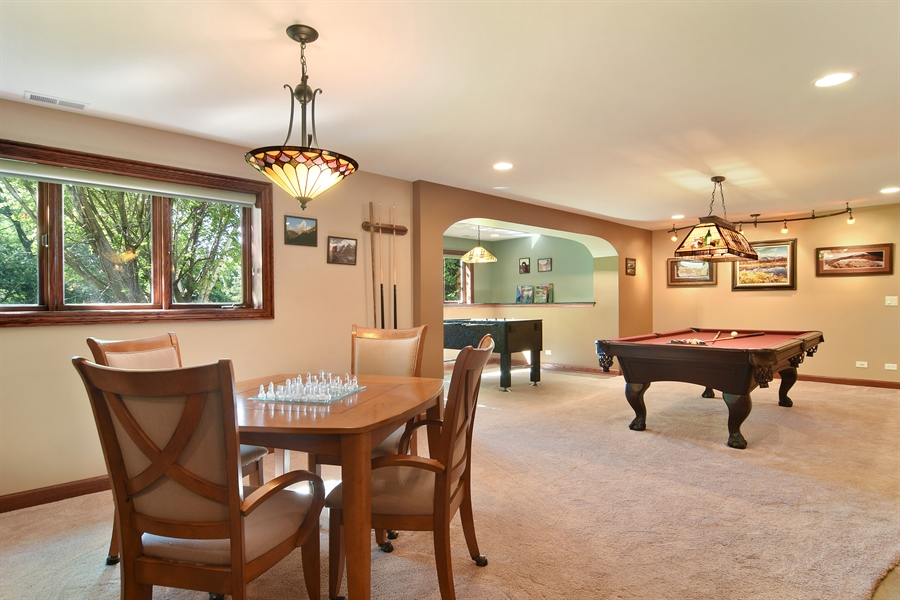 Real Estate Photography - 1 Overlook, Hawthorn Woods, IL, 60047 - Lower Level