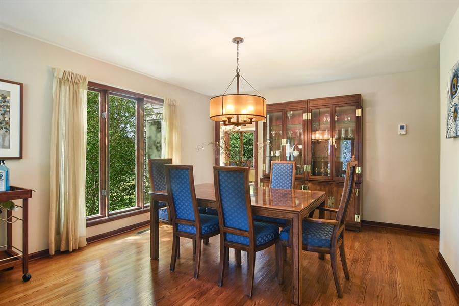 Real Estate Photography - 1 Overlook, Hawthorn Woods, IL, 60047 - Dining Room