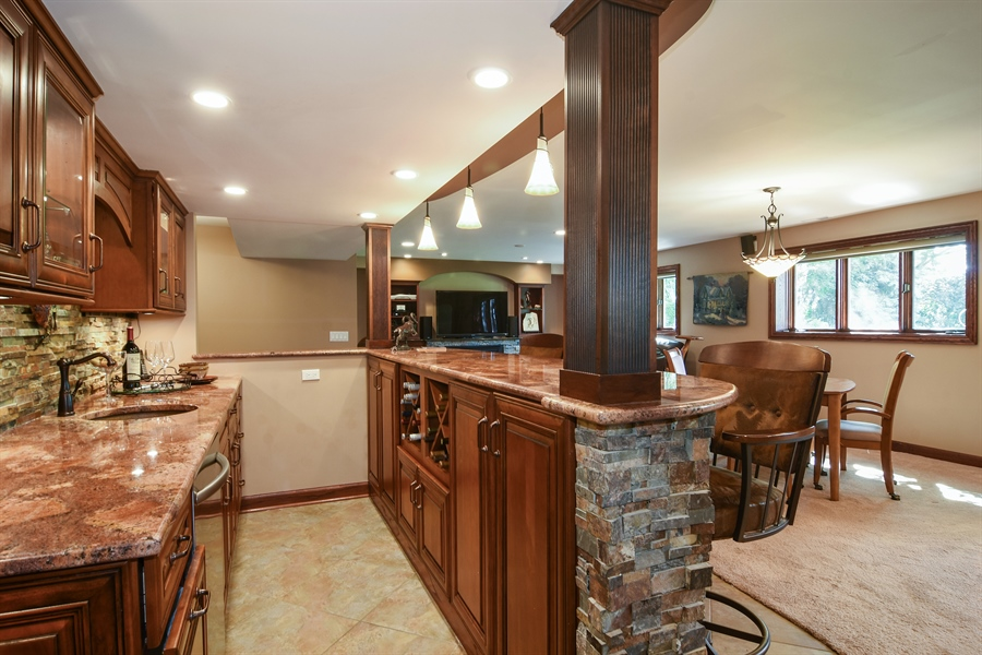 Real Estate Photography - 1 Overlook, Hawthorn Woods, IL, 60047 - Basement