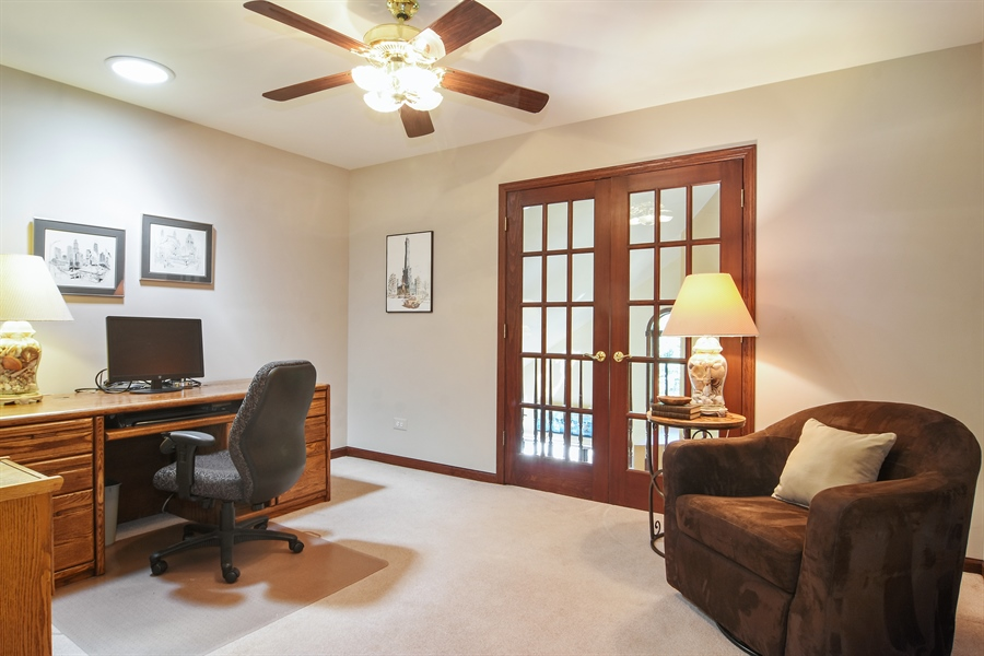 Real Estate Photography - 1 Overlook, Hawthorn Woods, IL, 60047 - Office