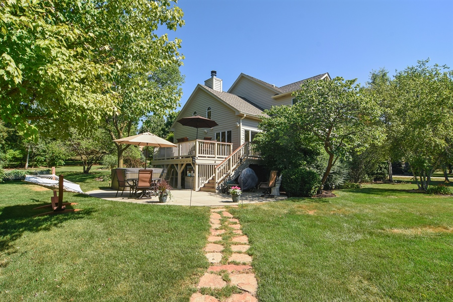 Real Estate Photography - 1 Overlook, Hawthorn Woods, IL, 60047 - Rear View