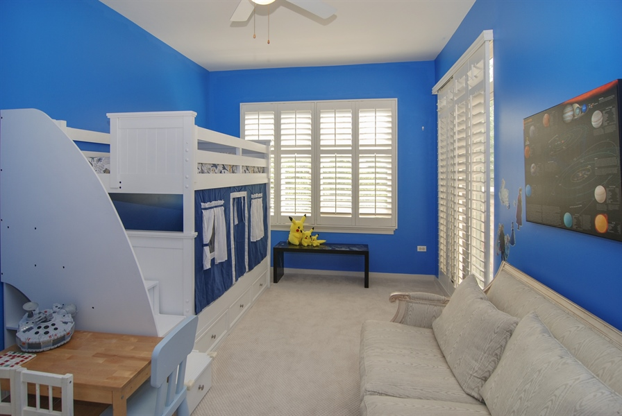 Real Estate Photography - 101 N. Euclid, 14, Oak Park, IL, 60301 - 2nd Bedroom