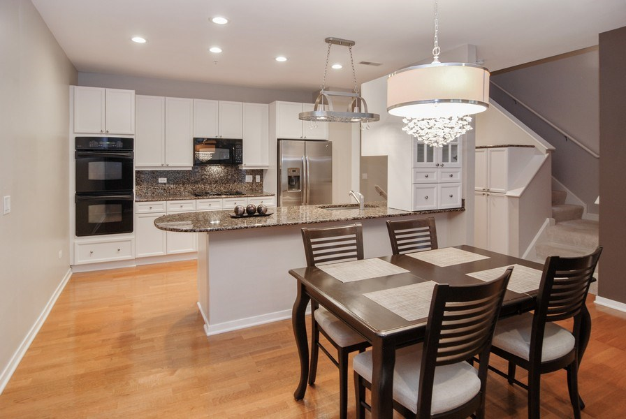 Real Estate Photography - 101 N. Euclid, 14, Oak Park, IL, 60301 - Dining Room/Kitchen