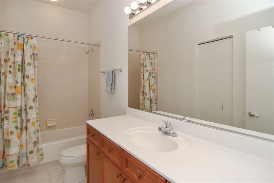 Real Estate Photography - 101 N. Euclid, 14, Oak Park, IL, 60301 - Bathroom