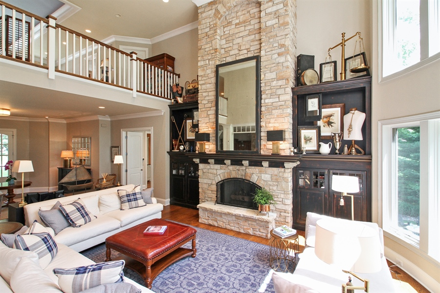 Real Estate Photography - 1251 Saint Andrews Road, Lake Geneva, WI, 53147 - Great Room
