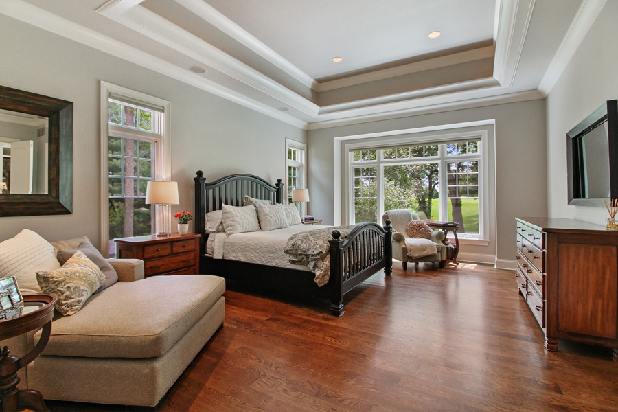 Real Estate Photography - 1251 Saint Andrews Road, Lake Geneva, WI, 53147 - Master Bedroom