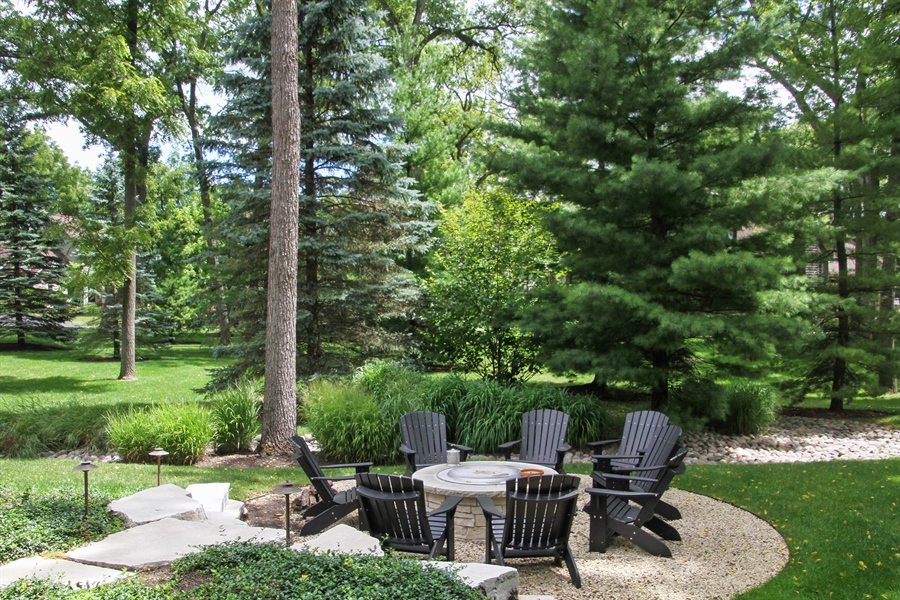 Real Estate Photography - 1251 Saint Andrews Road, Lake Geneva, WI, 53147 - Back Yard