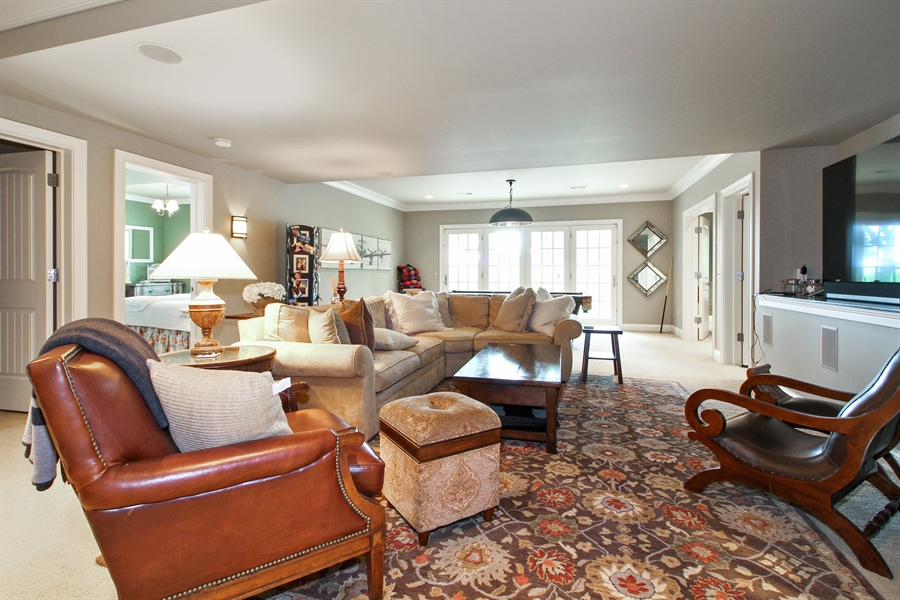 Real Estate Photography - 1251 Saint Andrews Road, Lake Geneva, WI, 53147 - Rec Room