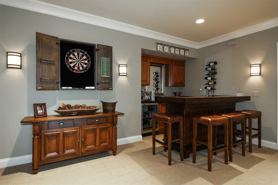Real Estate Photography - 1251 Saint Andrews Road, Lake Geneva, WI, 53147 - Bar