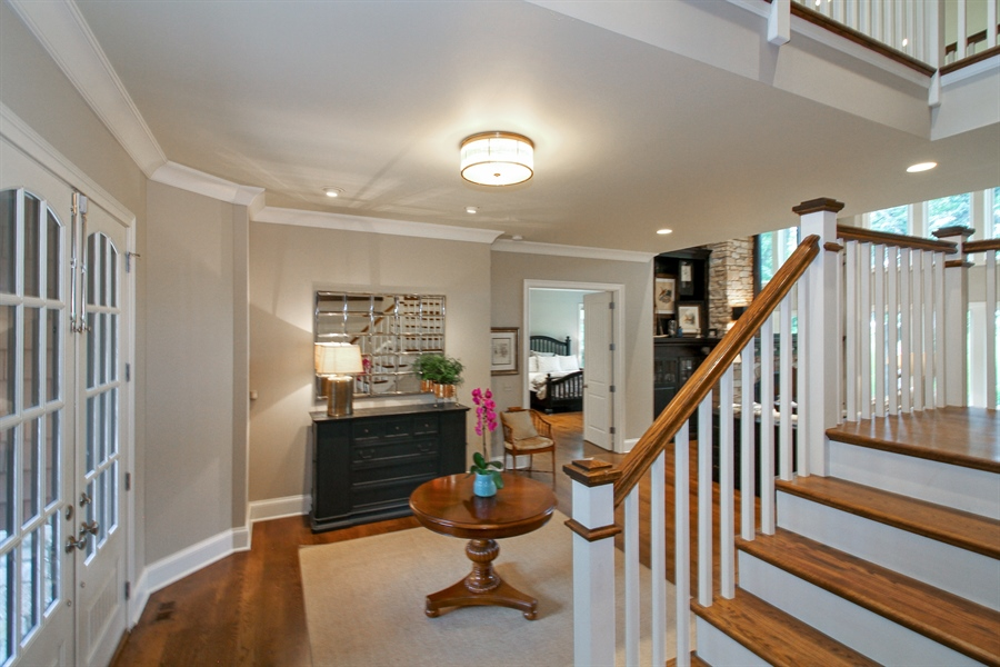 Real Estate Photography - 1251 Saint Andrews Road, Lake Geneva, WI, 53147 - Staircase
