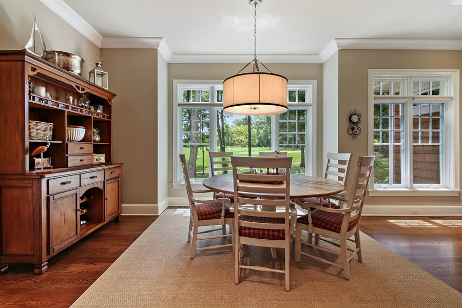 Real Estate Photography - 1251 Saint Andrews Road, Lake Geneva, WI, 53147 - Breakfast Nook