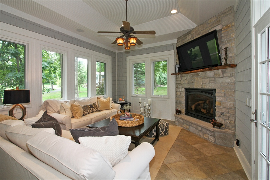 Real Estate Photography - 1251 Saint Andrews Road, Lake Geneva, WI, 53147 - Sun Room