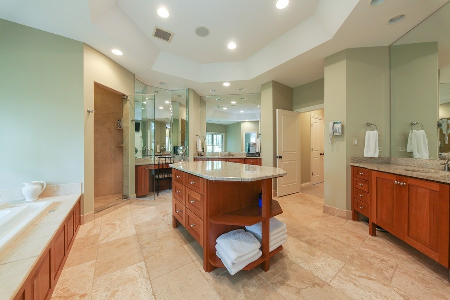 Real Estate Photography - 1354 Lincoln Ave S, Highland Park, IL, 60035 - Master Bathroom