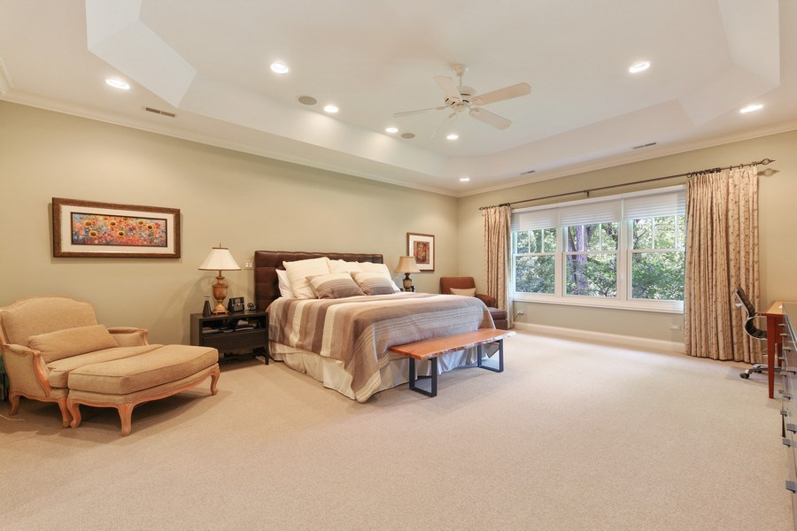 Real Estate Photography - 1354 Lincoln Ave S, Highland Park, IL, 60035 - Master Bedroom
