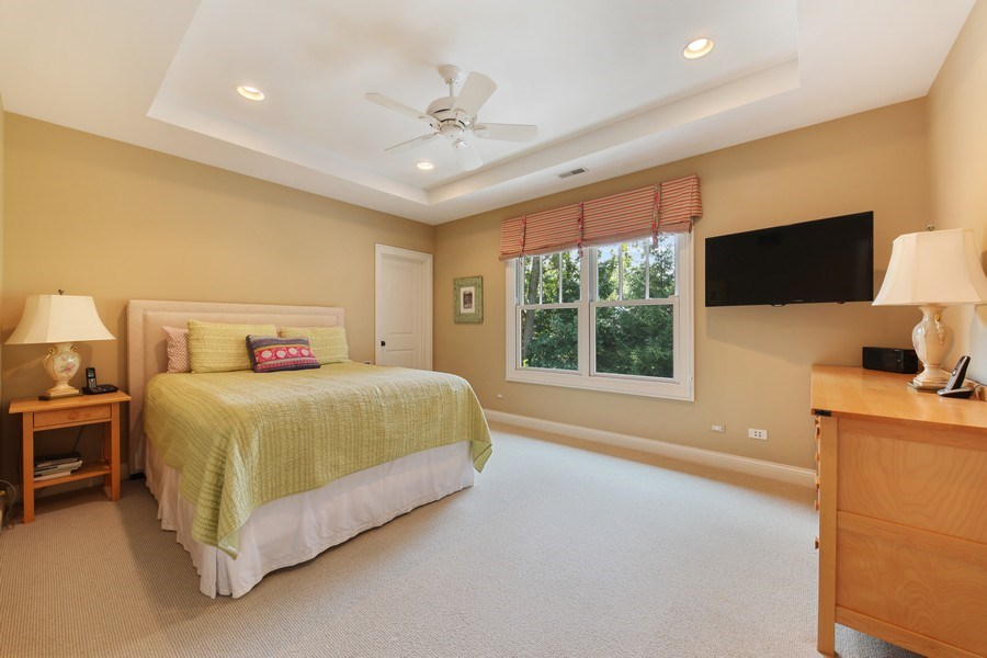 Real Estate Photography - 1354 Lincoln Ave S, Highland Park, IL, 60035 - 2nd Bedroom