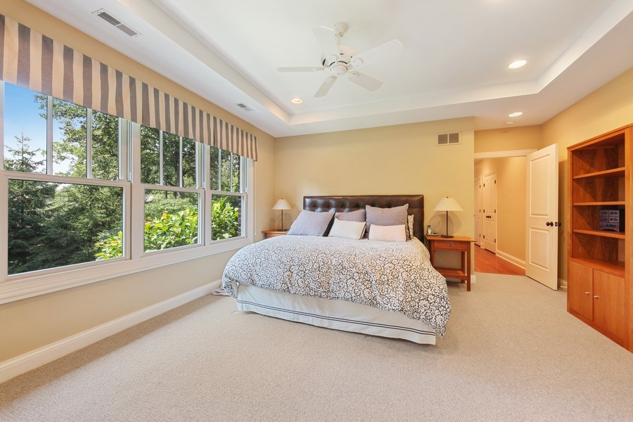 Real Estate Photography - 1354 Lincoln Ave S, Highland Park, IL, 60035 - 3rd Bedroom