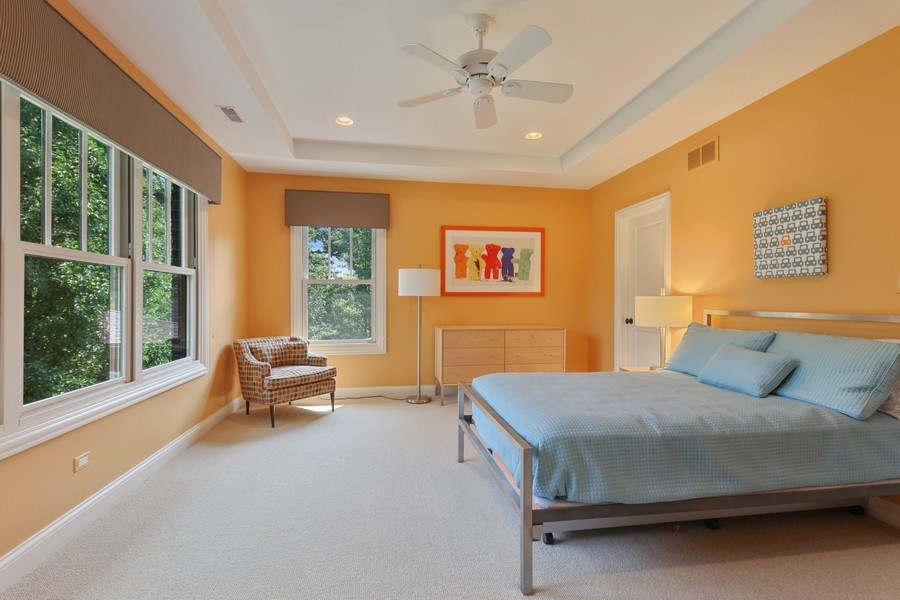 Real Estate Photography - 1354 Lincoln Ave S, Highland Park, IL, 60035 - 4th Bedroom