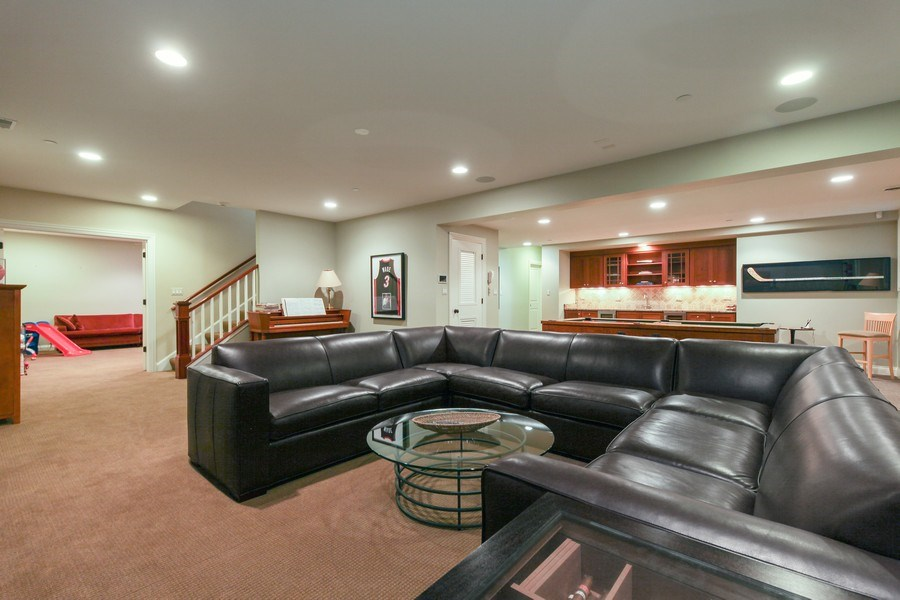 Real Estate Photography - 1354 Lincoln Ave S, Highland Park, IL, 60035 - Lower Level