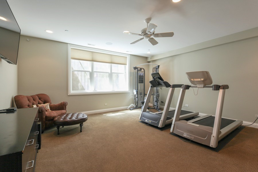 Real Estate Photography - 1354 Lincoln Ave S, Highland Park, IL, 60035 - 5th Bedroom
