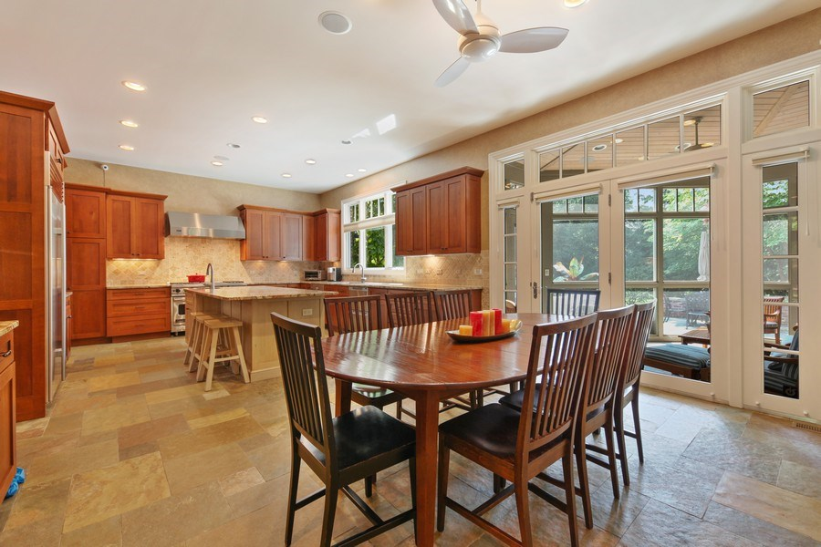Real Estate Photography - 1354 Lincoln Ave S, Highland Park, IL, 60035 - Kitchen / Breakfast Room