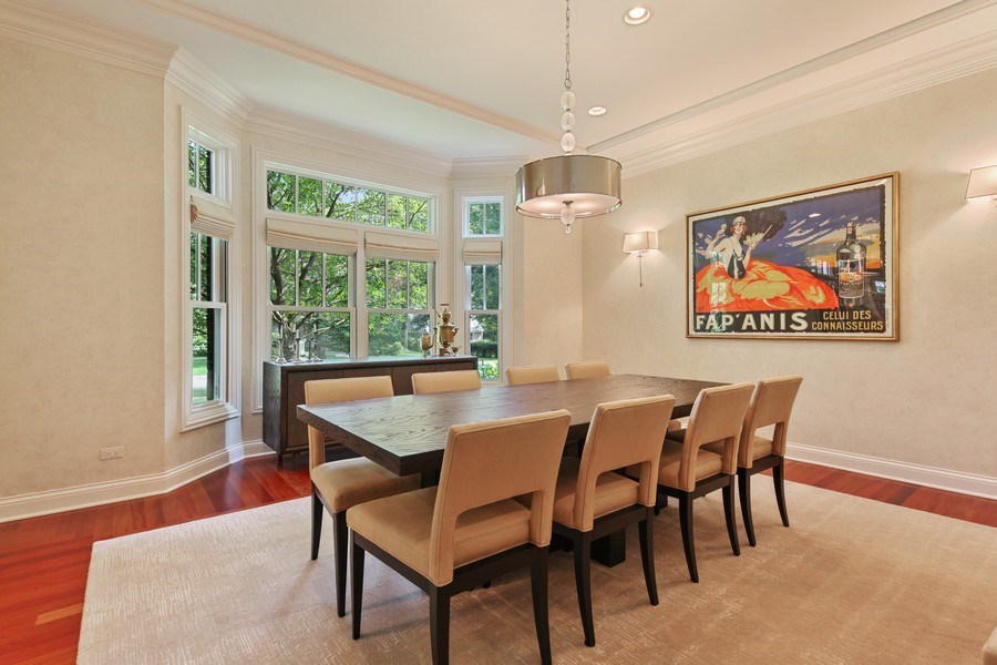 Real Estate Photography - 1354 Lincoln Ave S, Highland Park, IL, 60035 - Dining Room