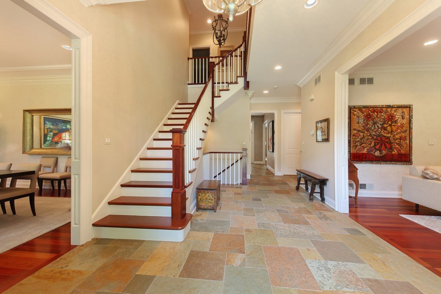 Real Estate Photography - 1354 Lincoln Ave S, Highland Park, IL, 60035 - Foyer