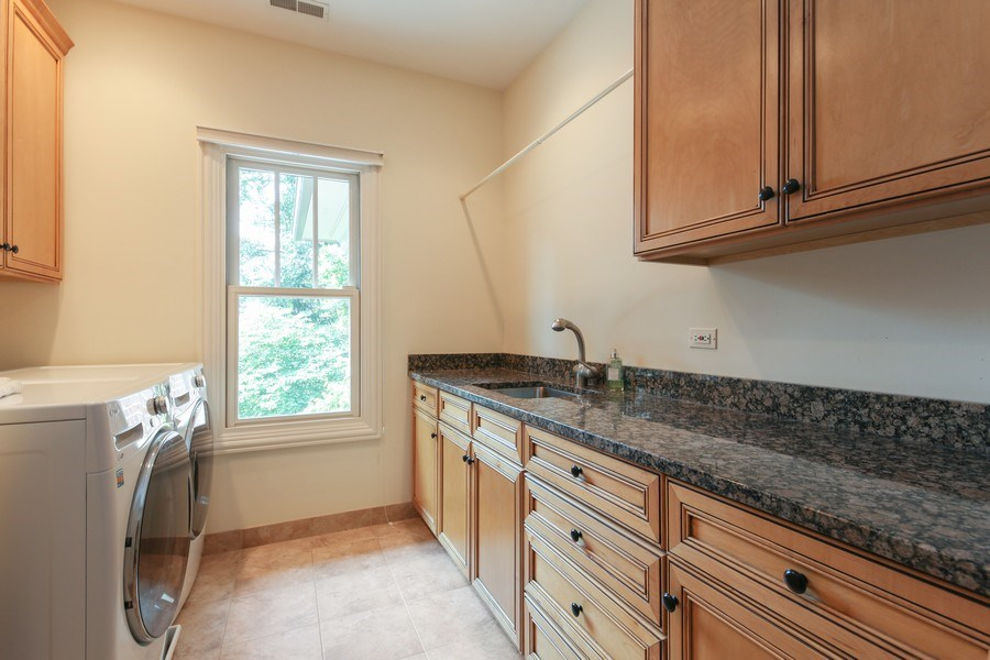 Real Estate Photography - 1354 Lincoln Ave S, Highland Park, IL, 60035 - Laundry Room