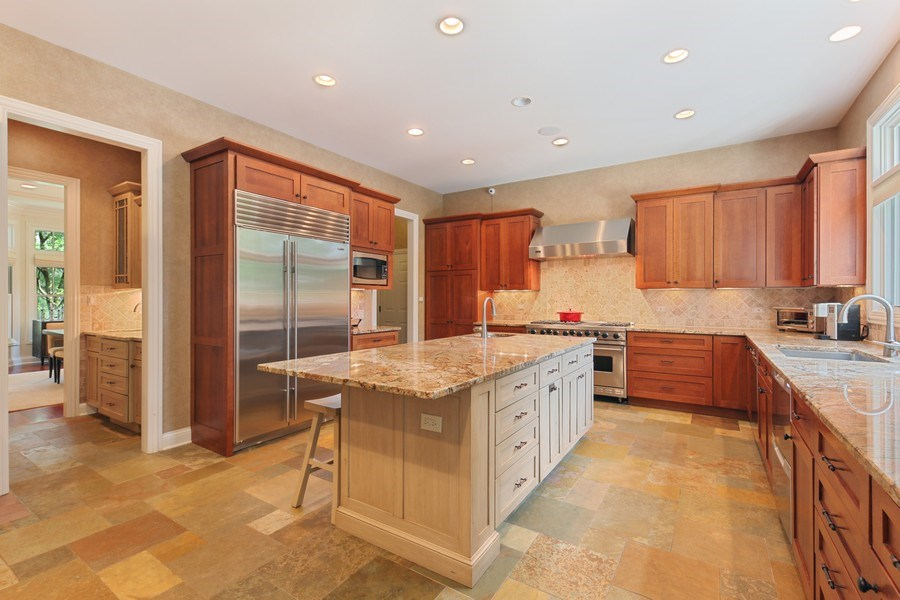 Real Estate Photography - 1354 Lincoln Ave S, Highland Park, IL, 60035 - Kitchen