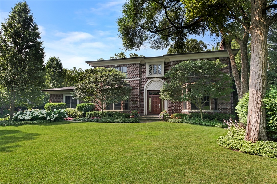 Real Estate Photography - 1354 Lincoln Ave S, Highland Park, IL, 60035 - Front View