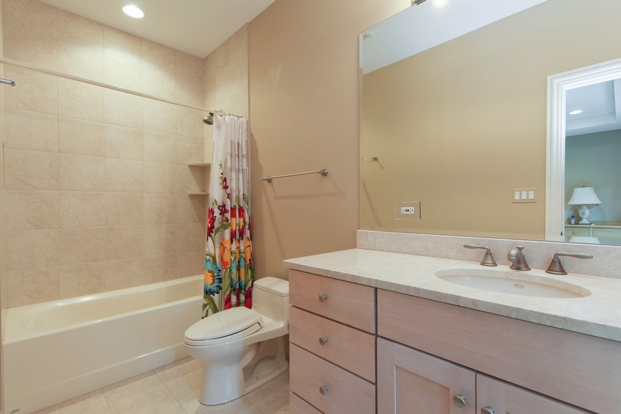 Real Estate Photography - 1354 Lincoln Ave S, Highland Park, IL, 60035 - Bathroom