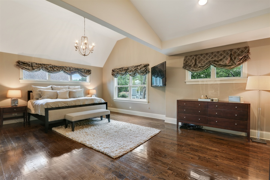 Real Estate Photography - 1232 N Chicago Avenue, Arlington Heights, IL, 60004 - Master Bedroom