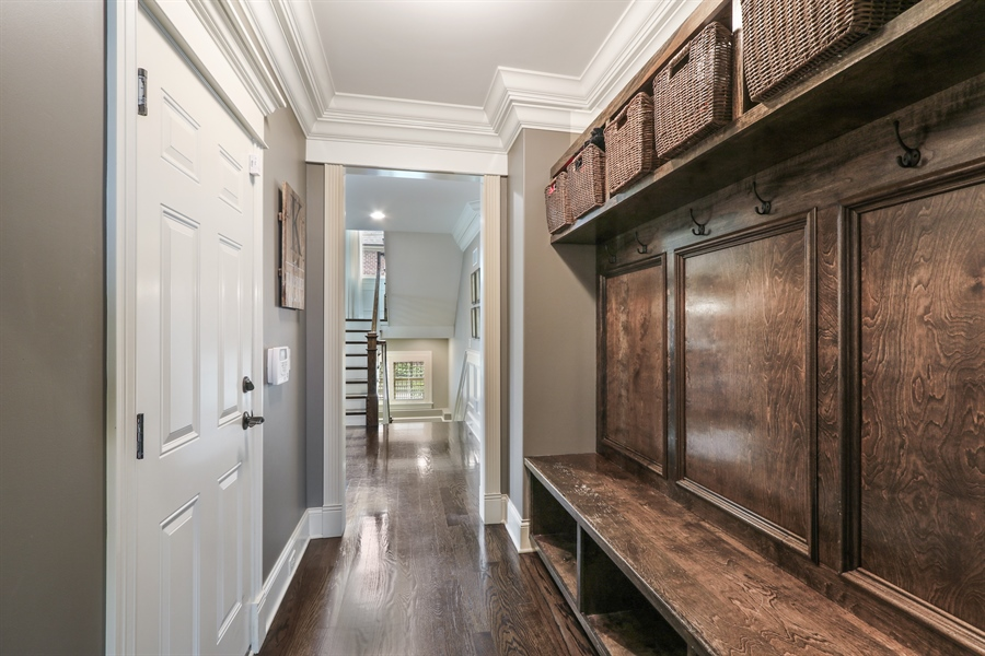Real Estate Photography - 1232 N Chicago Avenue, Arlington Heights, IL, 60004 - Mudroom