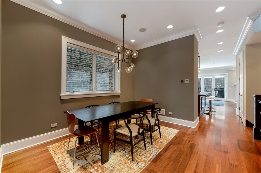 Real Estate Photography - 1526 N Elk Grove, Chicago, IL, 60622 - Dining Room