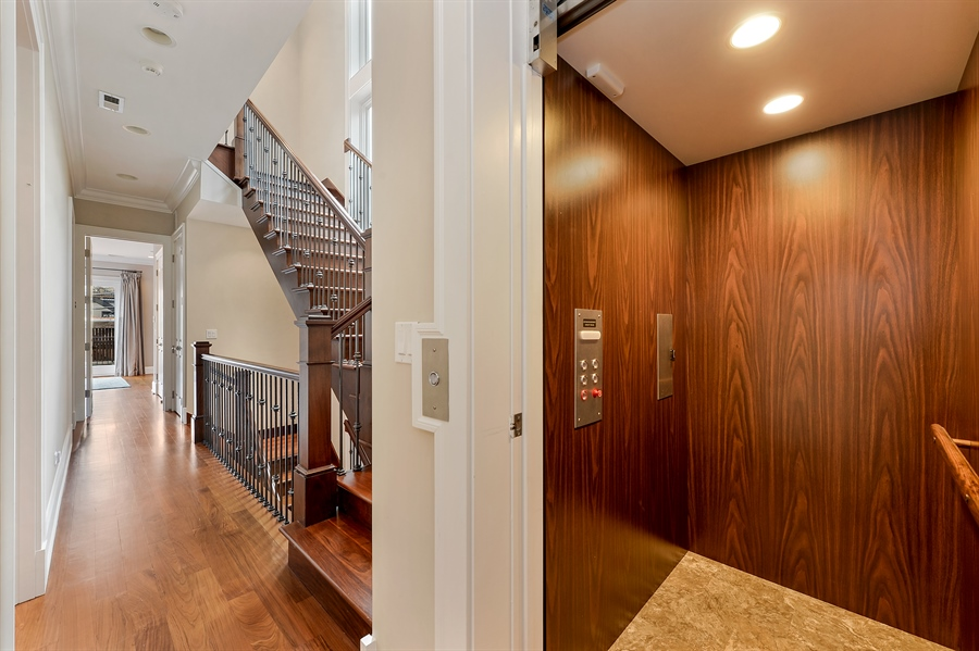 Real Estate Photography - 1526 N Elk Grove, Chicago, IL, 60622 - Elevator
