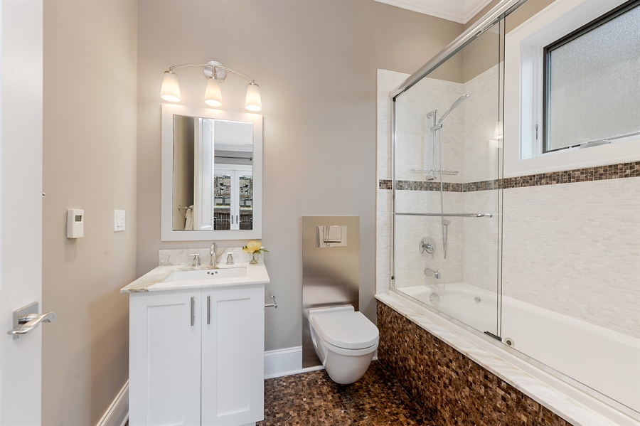 Real Estate Photography - 1526 N Elk Grove, Chicago, IL, 60622 - 2nd Bathroom