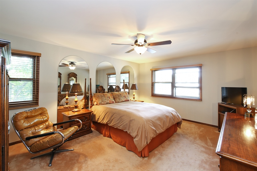 Real Estate Photography - 2421 N Evergreen, Arlington Heights, IL, 60004 - Master Bedroom