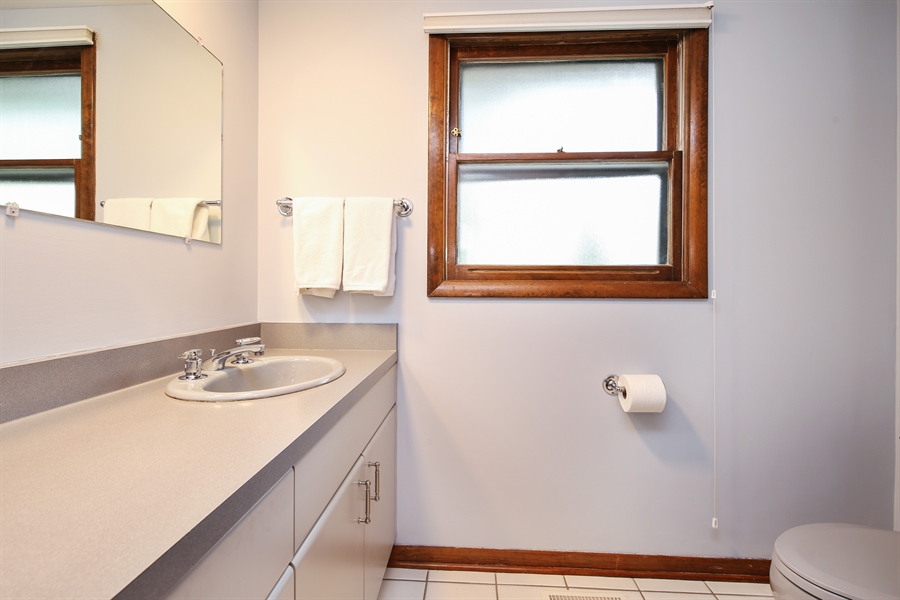 Real Estate Photography - 2421 N Evergreen, Arlington Heights, IL, 60004 - Powder Room